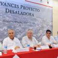 Para el desarrollo de la región Guaymas-Empalme: Presentan avances en proyecto de desaladora