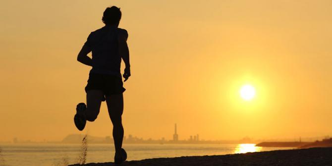Correr con altas temperaturas