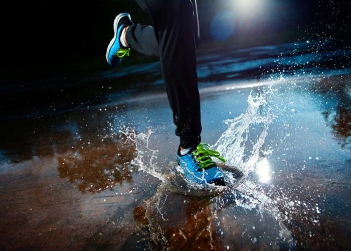 Consejos para salir a correr cuando está lloviendo