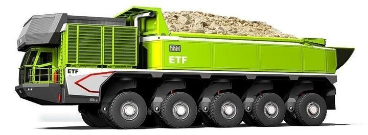 El camión minero del futuro