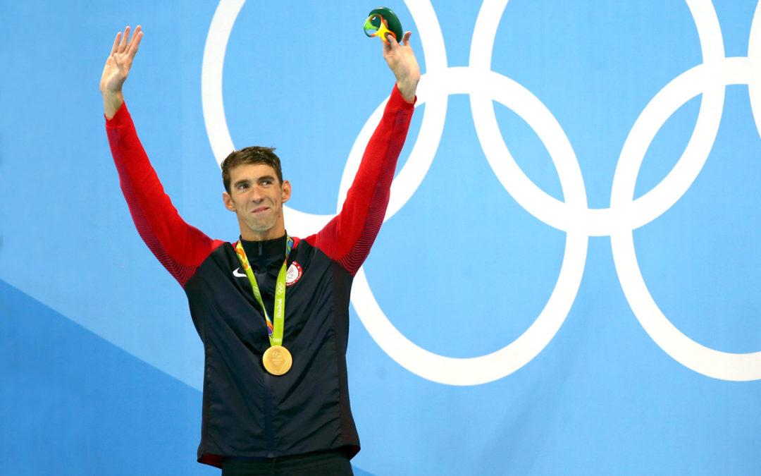 3 lecciones de vida de Michael Phelps fuera de la alberca