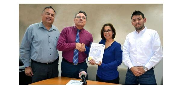 Entrega el IMPI a nuestra casa de estudios la primera patente generada en Ingeniería Civil
