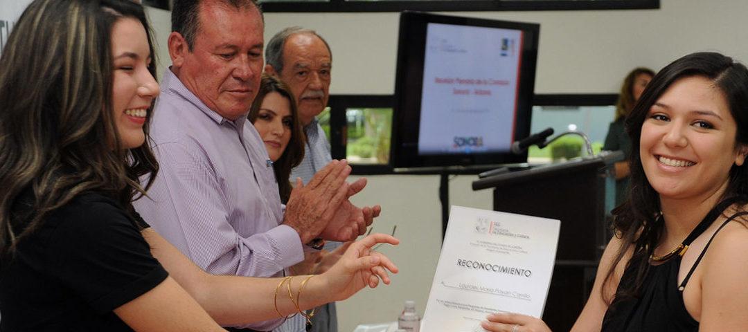 Continúa Gobierno del Estado con apoyos de becas Megarregión Sonora-Arizona