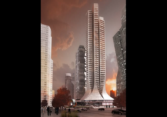 El proyecto de Torre Bora de Zaha Hadid prevé comenzar su construcción en breve