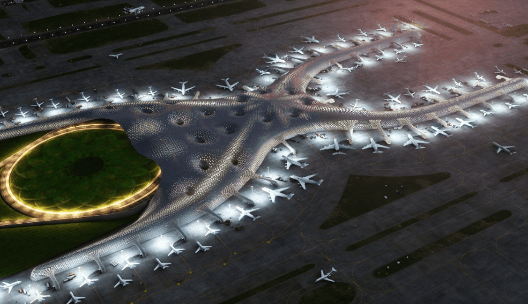 Así será el Nuevo Aeropuerto Internacional de la Ciudad de México